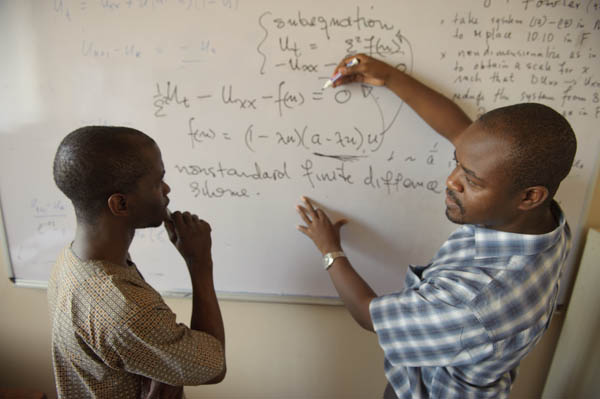 Annual report: Mathematics Professor and Student