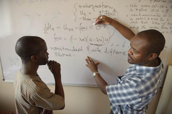 Mathematics Professor and student